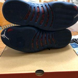 "Jordan Shoes - Jordan XII Retro ""French Blue"", Size 11"